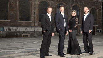 The Long-Awaited Return of the Saxophone, Voice, Organ & Percussion Quartet