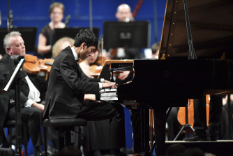 Eric Lu performs at Leeds International Piano Competition 2018 (c) Simon Wilkinson Photography