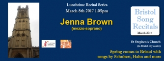 Jenna Brown Recital, March 2017