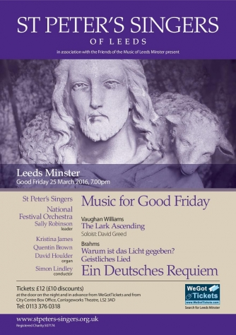 St Peter's Singers - Music for Good Friday at Leeds Minster