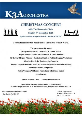 2108 Christmas Concert flyer
