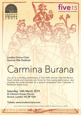Concert handbill