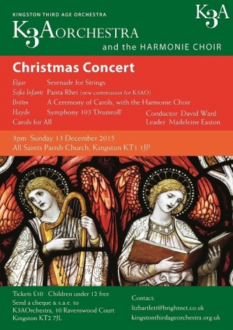 2015 Christmas Concert flyer