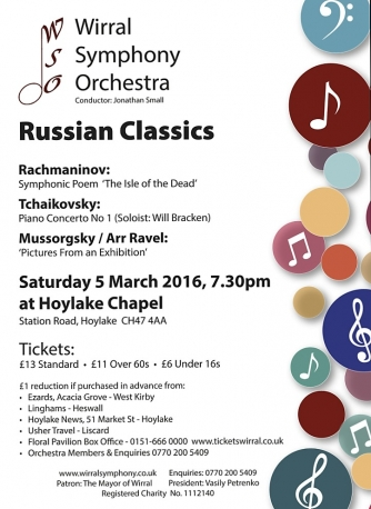 Russian Classics - Wirral Symphony Orchestra