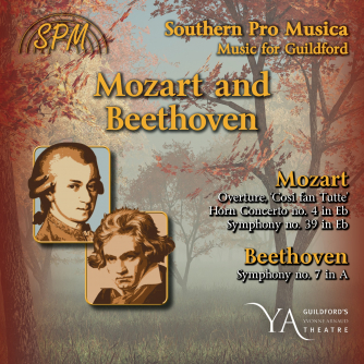 SPM's 2018-19 season will launch with Mozart and Beethoven