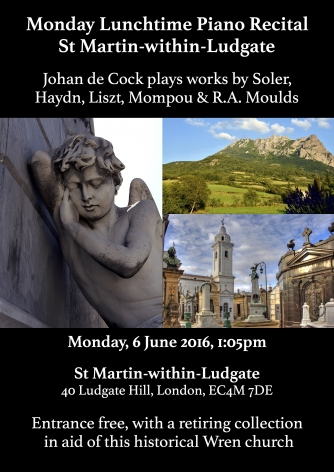 St Martin-within-Ludgate Flyer June 2016