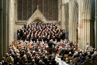 Worcester Festival Choral Society performs