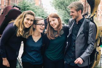 Consone Quartet (photo credit - Moonchild)