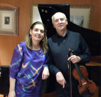 Anthony Flint (violin) & Clélia Iruzun (piano)