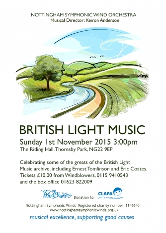 British Light Music 1/11/15 Poster