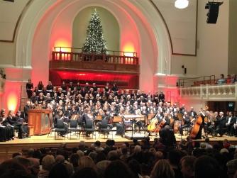Barts Choir performing at Cadogan Hall in November 2015