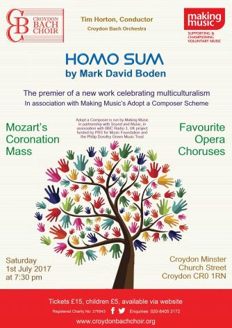 Croydon Bach Choir Summer Concert