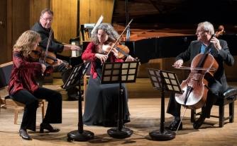 The Primrose Piano Quartet, photo by Lester Barnes
