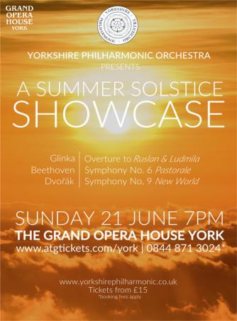 YPO - Solstice Showcase Poster