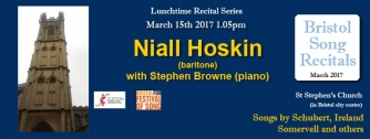 Niall Hoskin Recital, March 2017