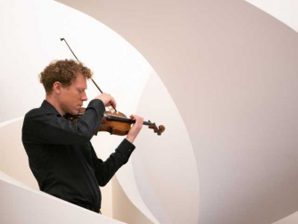 Max Baillie plays Bach and Messiaen in the Colnaghi Gallery