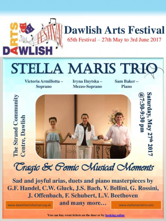 Stella Maris Trio at Dawlish Arts Festival 2017