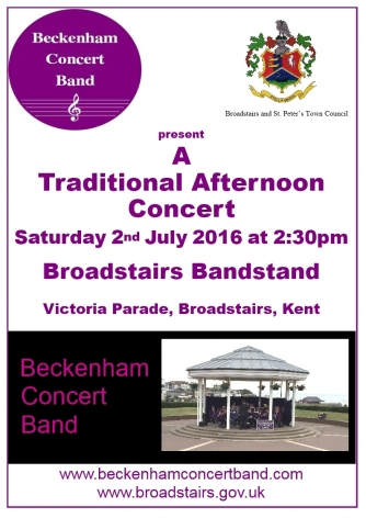 Broadstairs Concert poster