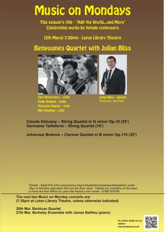 Benyounes Quartet/Julian Bliss