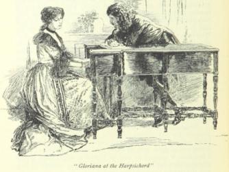 'Gloriana at the Harpsichord'