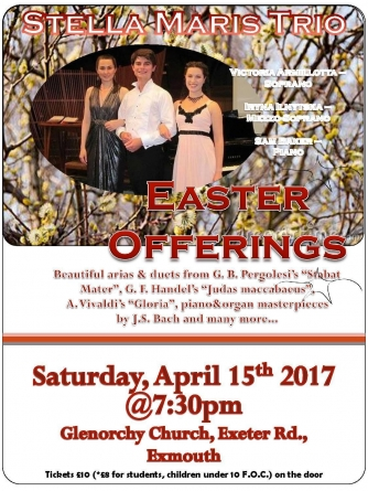 "Stella Maris Trio: Concert ""Easter Offerings"""