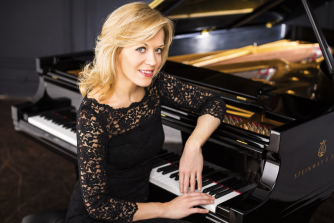 Pianist Olga Kern is on the jury of the Scottish International Piano Competition