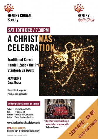Henley Choral Society Christmas Flyer