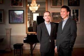 Simon Callaghan and Hiro Takenouchi