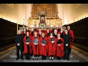 Edinburgh University Renaissance Singers with Dr Noel O'Regan, director
