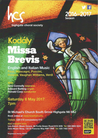 Highgate Choral Society