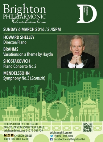 6 March concert poster Howard Shelley