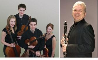 Sacconi Quartet and Michael Collins, clarinet