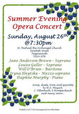 Summer Evening Opera Concert
