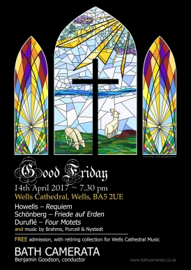 Good Friday Concert Poster