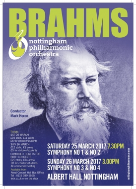 Brahms Poster