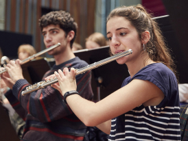 Guildhall Symphony Orchestra Flutes