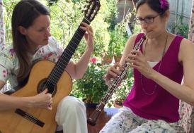 Julia White & Rebecca Baulch, oboe & classical guitar