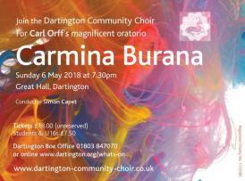 Carmina Buran - Dartington Community Choir