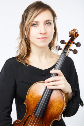 Luba Tunnicliffe viola soloist