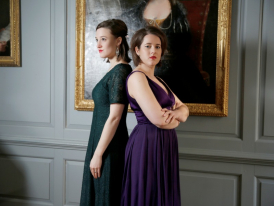 Sopranos Emily Owen and Jenni Harper reprise their roles as The Rival Queens at Handel House