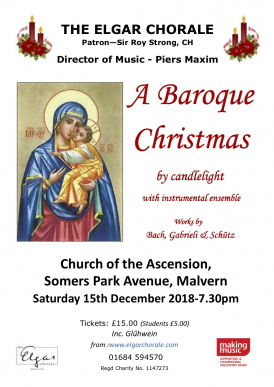 A Baroque Christmas with the Elgar Chorale