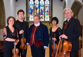 Dante Quartet with David Timson
