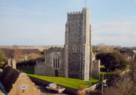 St Nicholas-at-Wade church
