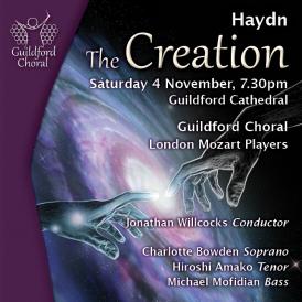 Haydn's masterful 3-part oratorio, The Creation
