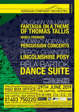 HSO Concert Poster 29 June 2019