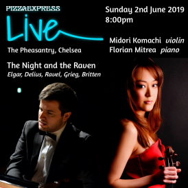 Evening of music inspired by poetry and visual art, concert as part of the popular Pizza Express Live series