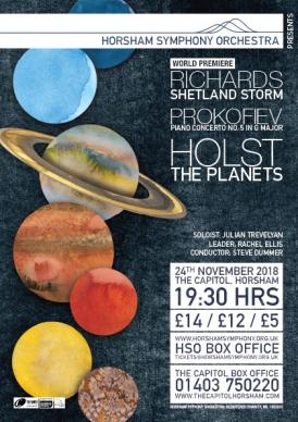 HSO Concert Poster November 2018
