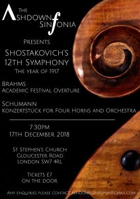 Ashdown Sinfonia Winter Concert 2018