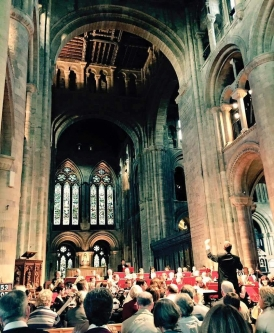 Southampton Concert Orchestra in Romsey Abbey