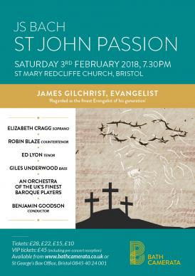 St John Passion - Bath Camerata